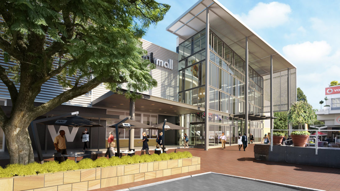 Exterior Rendering Photomontage - Rosebank Mall - 2 - MDS Architecture