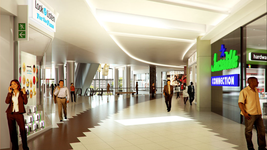 Interior Rendering - Rosebank Mall - 3 - MDS Architecture