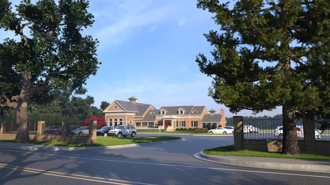 Exterior Rendering - Winery - 1 - Long Island New York